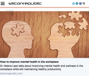 EXCELLENT MENTAL WELLNESS BOOSTS PRODUCTIVITY